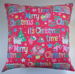 Cushion Cover in Cath Kidston It's Christmas Time 16""
